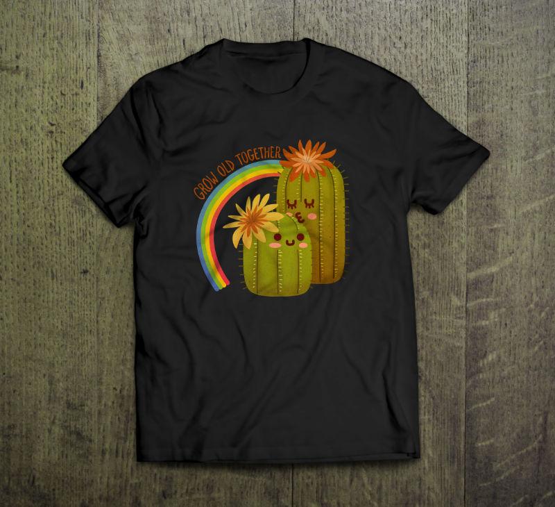 Cactus-tshirt