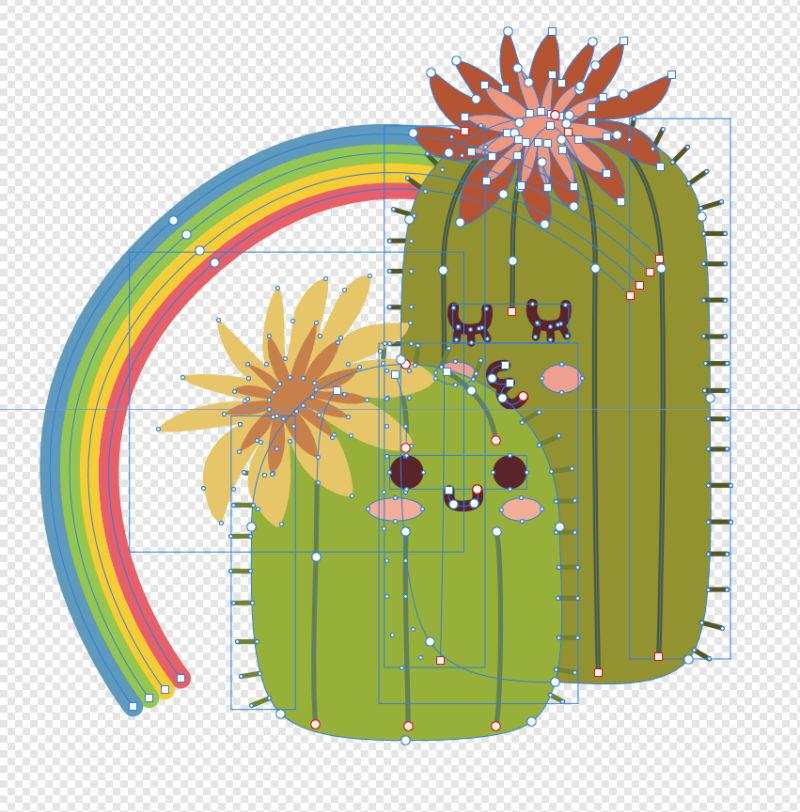 Cactus-vectors